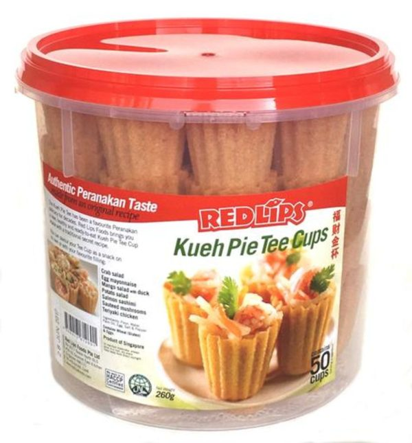 50 Regular Kueh Pie Tee Cups