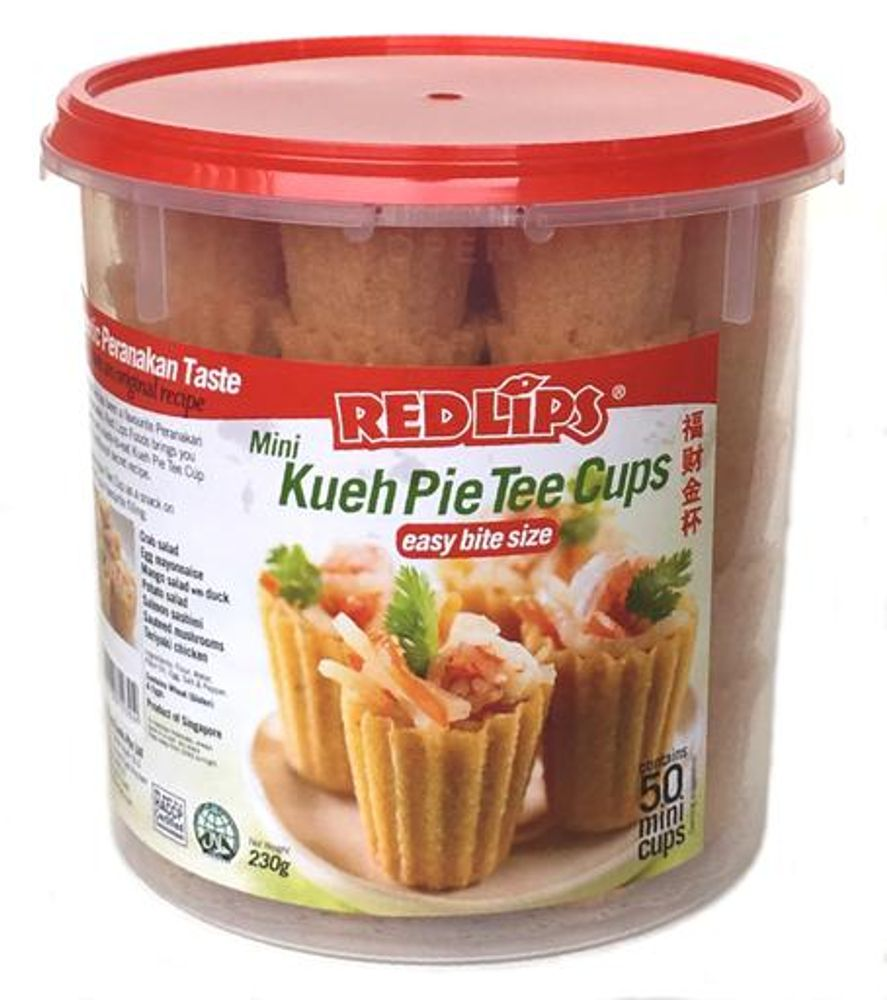 50 Mini Kueh Pie Tee Cups
