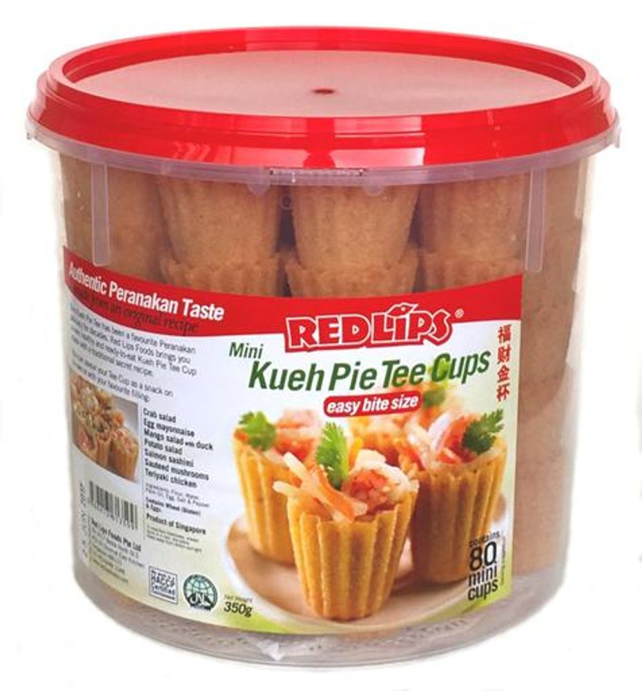 80 Mini Kueh Pie Tee Cups